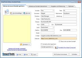 SmartTools Adress-Assistent für Outlook
