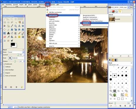 GIMP: Bilder verfremden