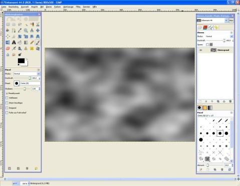 GIMP: Effekt einfügen