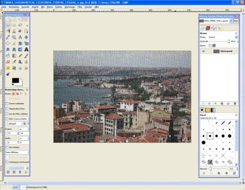 GIMP: Effekt integrieren