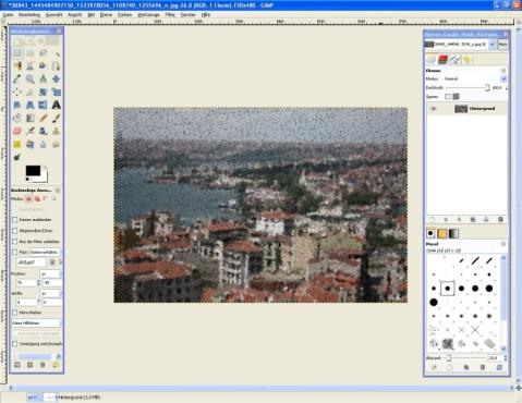 GIMP: Kubismus-Effekt einfügen