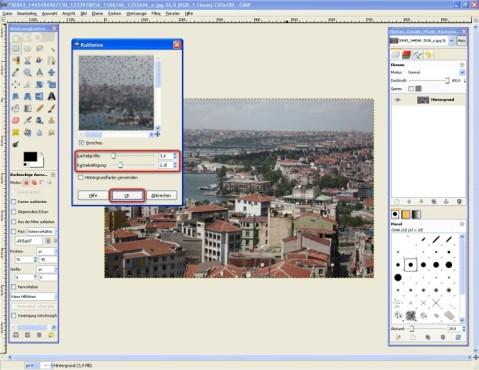 GIMP: Kubismus-Effekt nutzen