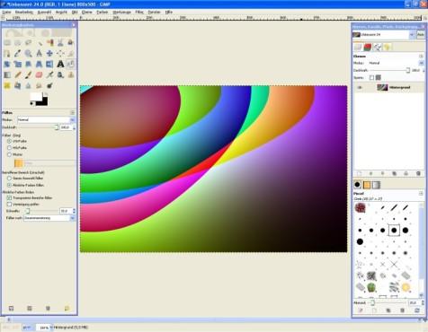 GIMP: Muster integrieren