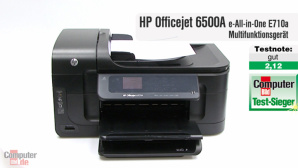 Video zum Test: Multifunktionsdrucker HP Officejet 6500A E710a