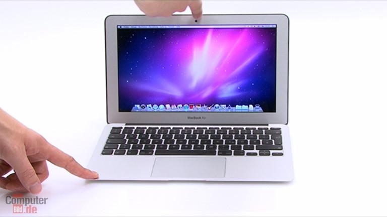video zum test apple macbook air 11 zoll mc506d a. Black Bedroom Furniture Sets. Home Design Ideas