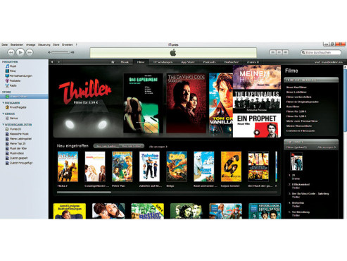 Screenshot iTunes Store © COMPUTER BILD