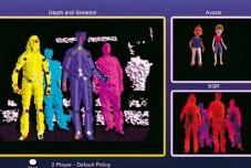 3D-Kamera Kinect: Erfassung ©Microsoft