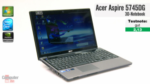 Video: Acer Aspire 5745DG 3D-Notebook