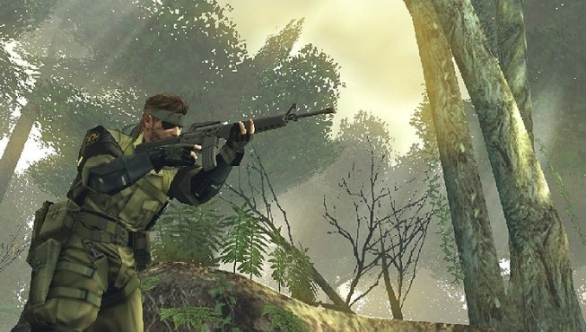 Actionspiel Metal Gear Solid – Peace Walker: Wald © Konami