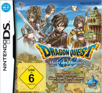 Rollenspiel Dragon Quest 9: Cover © Square Enix