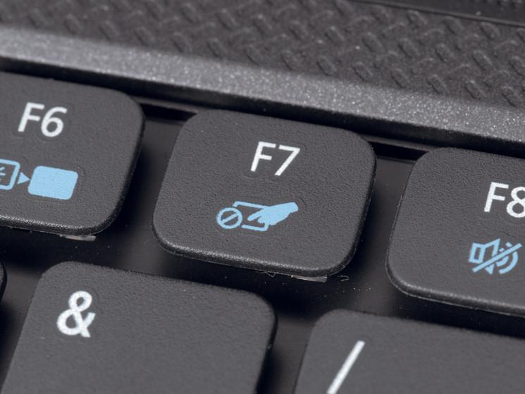 Mousepad aktivieren