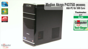 Video zum Test: Aldi-PC Medion Akoya P4375D (MD8880)