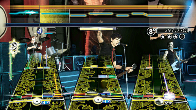 Musikspiel Green Day Rockband: Spuren © Electronic Arts