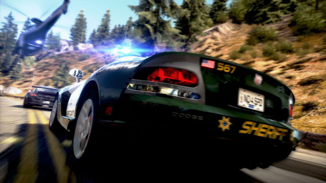 Rennspiel Need for Speed – Hot Pursuit: Polizei © Electronic Arts