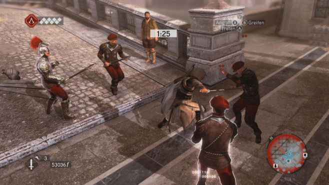 Komplettlösung Assassin's Creed – Brotherhood: Blocken und Kontern © Ubisoft