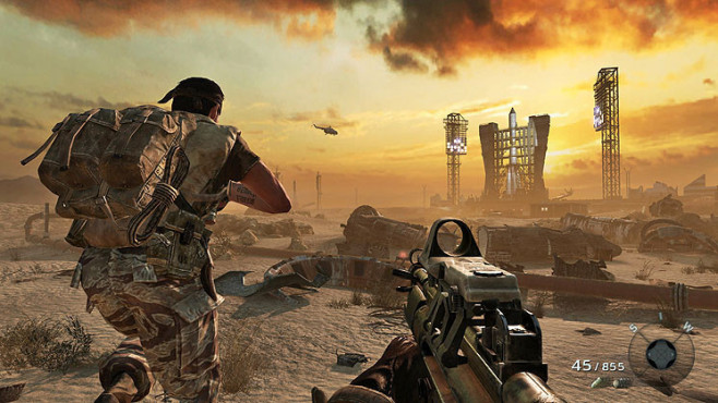 Actionspiel Call of Duty � Black Ops: Start ©Activision