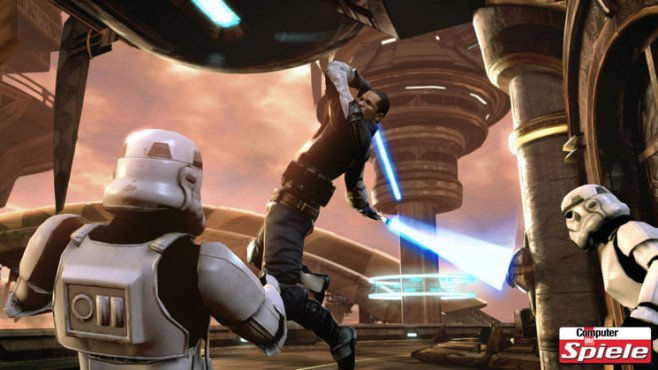 Actionspiel Star Wars – The Force Unleashed 2: Attacke © LucasArts Entertainment