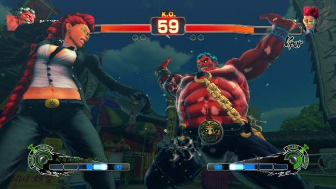 Prügelspiel Super Street Fighter 4: Hakan © Capcom