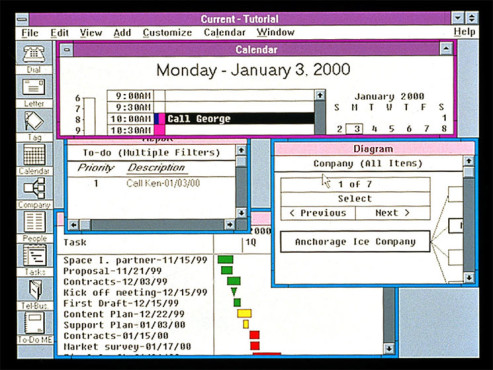 Screenshot Windows 3.0 © Microsoft