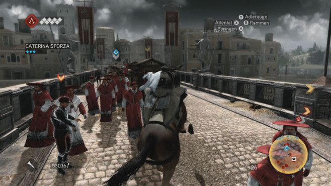 Komplettlösung Assassin's Creed – Brotherhood: Reiten © Ubisoft