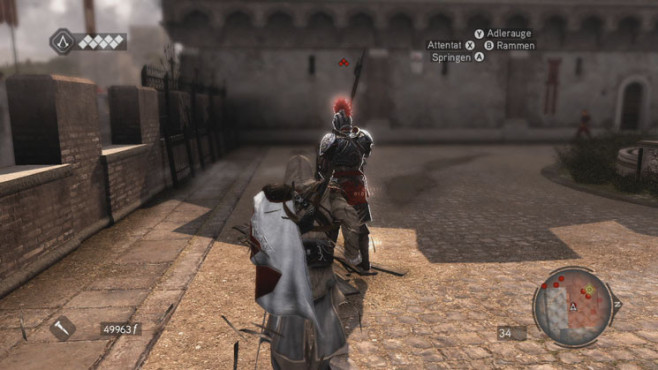 Komplettlösung Assassin's Creed – Brotherhood: Vorplatz © Ubisoft