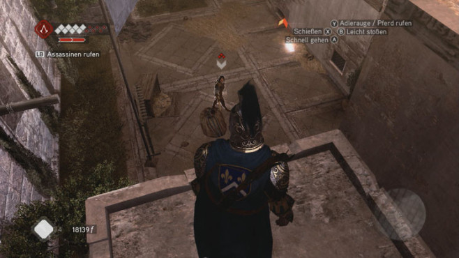 Komplettlösung Assassin's Creed – Brotherhood: Baron de Valois © Ubisoft