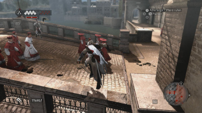 Komplettlösung Assassin's Creed – Brotherhood: Brücke © Ubisoft