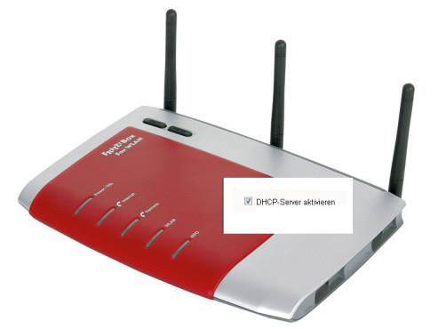 DHCP-Server aktivieren ©AVM