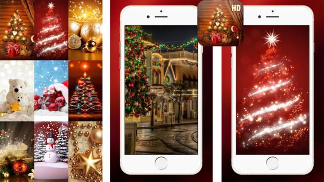 Hintergrundbilder für Weihnachten & Neujahr 2017 ©Vesna Milicevic