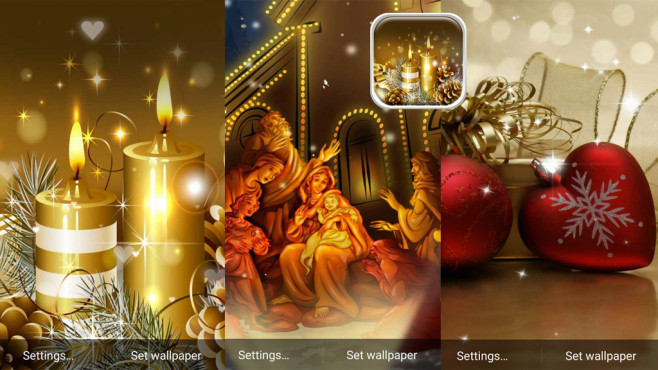 24 xmas apps f r ios und android bilder screenshots. Black Bedroom Furniture Sets. Home Design Ideas