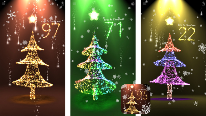 Weihnachts Countdown 3D Tree Premium © AQREADD