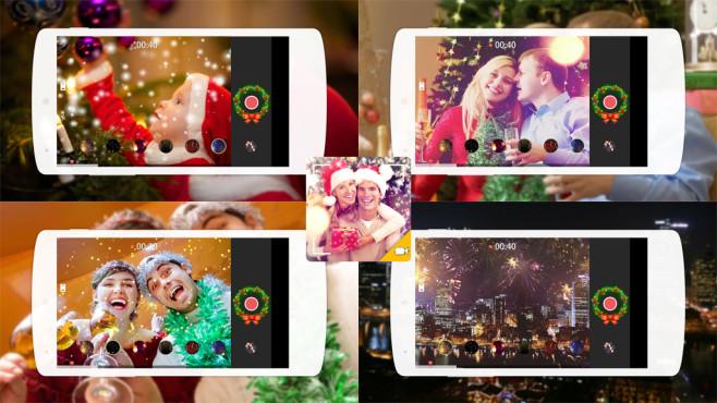 Weihnachtsvideo-Ersteller ©RILEY CILLIAN