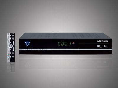 sat receiver medion life p24006 mit hd bei aldi audio. Black Bedroom Furniture Sets. Home Design Ideas