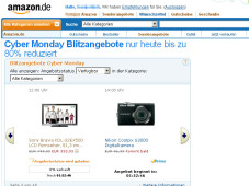 Cyber-Monday-Angebot © Amazon