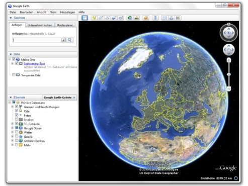 Google Earth 6.0: Download, Screenshots und Infos - COMPUTER BILD