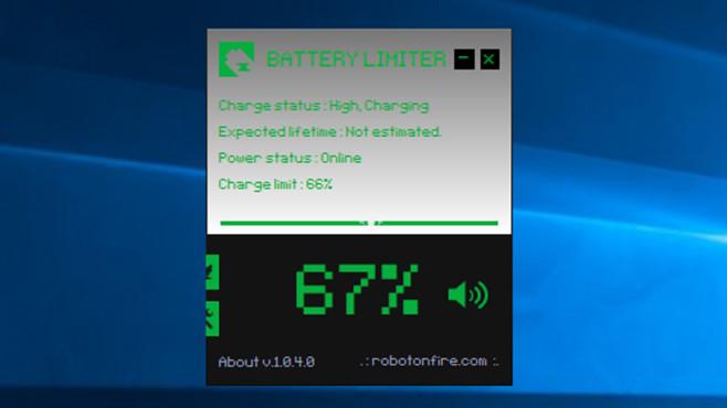 Battery Limiter: Warnungen vor Akku-Last ©COMPUTER BILD