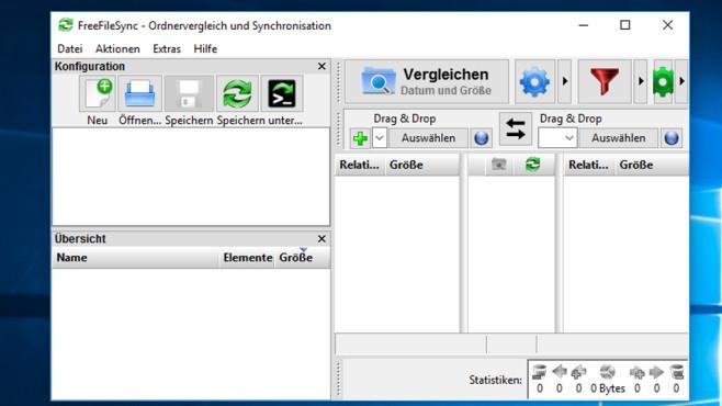 FreeFileSync: Dateibestände vereinheitlichen ©COMPUTER BILD