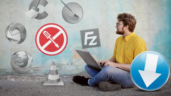 Portable Programme: Praktische Helfer für den USB-Stick ©Ms VectorPlus-Fotolia.com, olly-Fotolia.com