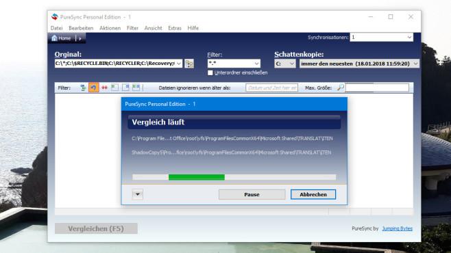 PureSync: Daten mit anderen Geräten abgleichen ©COMPUTER BILD