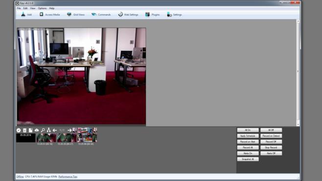 iSpy: Notebook in Überwachungseinheit verwandeln ©COMPUTER BILD