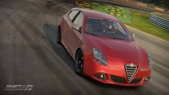 Need for Speed - Shift 2 Unleashed: Alfa Romeo Giuletta QV vorne © Electronic Arts