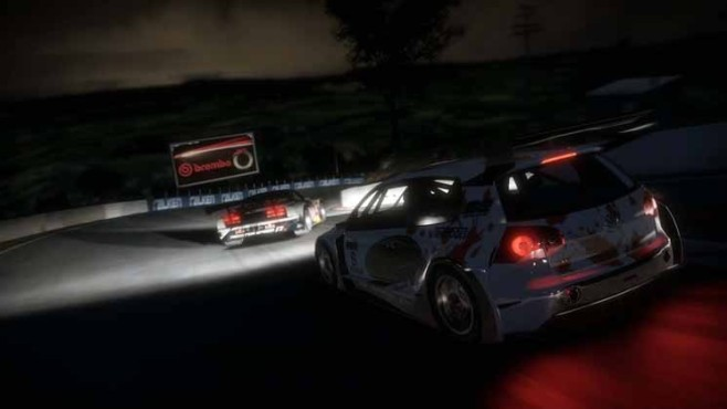 Need for Speed - Shift 2 Unleashed: Nacht © Electronic Arts