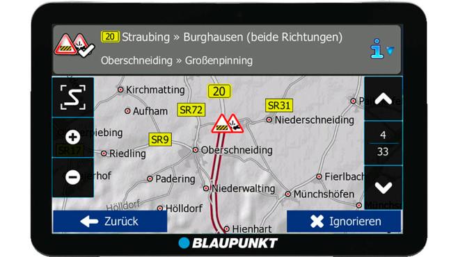 Platz 7: Blaupunkt TravelPilot 73² CE LMU ©Blaupunkt