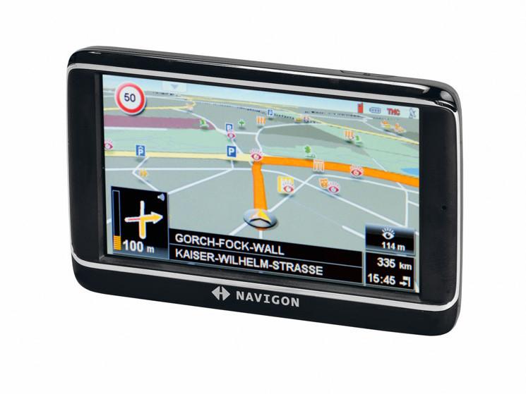 Navigationsgerät im Test: Navigon 40 Premium