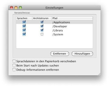 Screenshot 4 - Monolingual (Mac)
