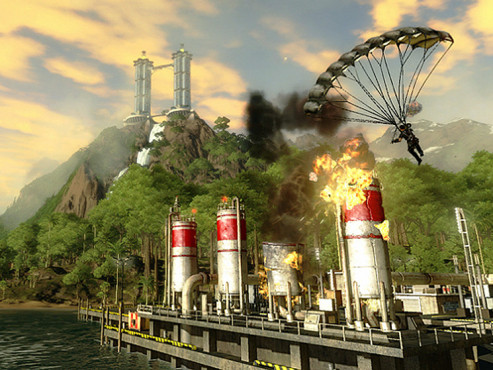 Gamesload: Just Cause 2 © Square enix