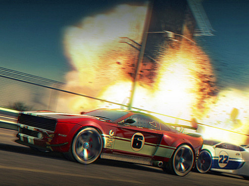 Gamesload: Split Second – Velocity © Disney