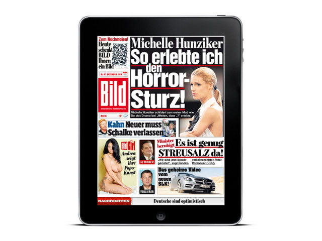 bild hd die bild zeitung f r das ipad computer bild. Black Bedroom Furniture Sets. Home Design Ideas