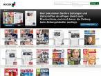 Screenshot iKiosk���Axel Springer AG