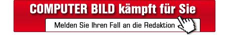 COMPUTER BILD k�mpft f�r Sie ©computerbild.de